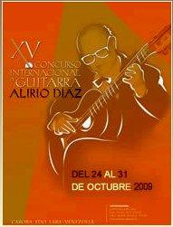 Afiche concurso Alirio Díaz 2009