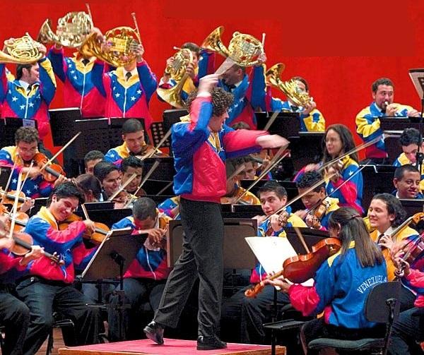 Gustavo Dudamel y Orquesta Sinfónica Simón Bolívar