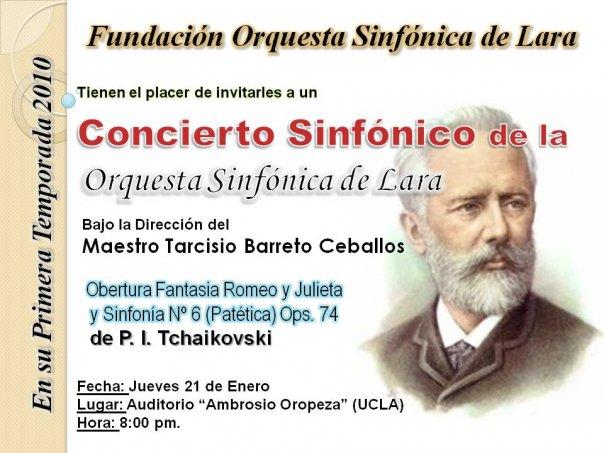 Orquesta Sinfonica de Lara en concierto