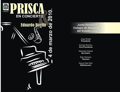 Prisca Dávila en concierto
