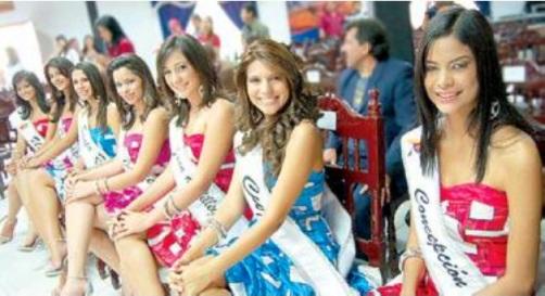 Candidatas - X Carnavales Internacionales de Barquisimeto 2010