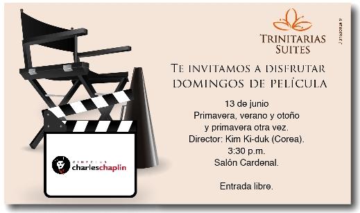 Cine en Hotel Trinitarias Suites
