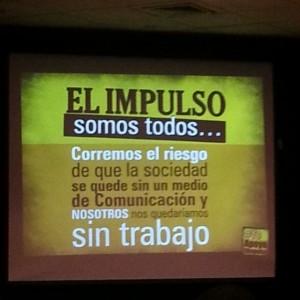 Fotografía: Mariángela González, periodista del Diario El Impulso