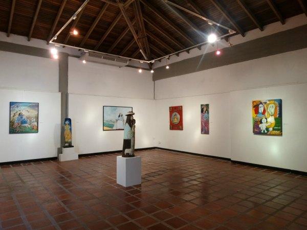 Obras de arte engalanan el recinto de Santa Rosa dedicado a la Divina Pastora.