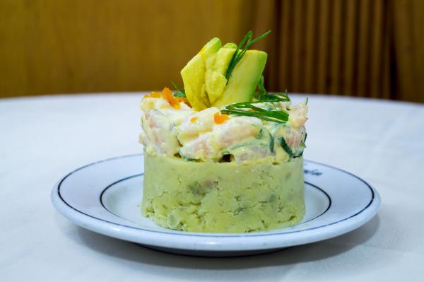 """La famosa """"Causa Limeña"""" figura entre los platos principales de este anhelado festival gastronómico."""