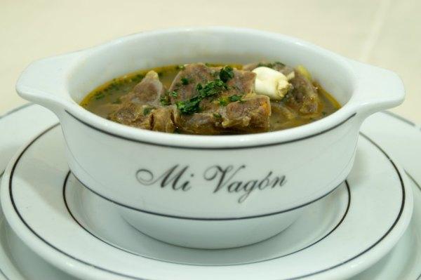 La Sopa Peruana no podía faltar en el 1°er Festival Gastronómico de Mi Vagón Restaurant