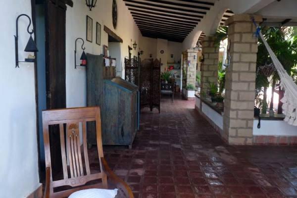 La Solariega: un ambiente acogedor y hogareño.