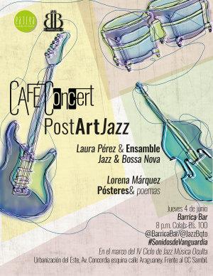 Cafe Concert 3_PostArt Jazz