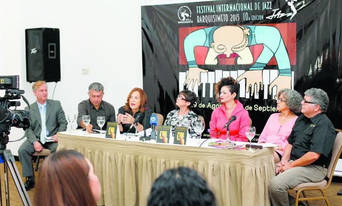 Rueda de prensa del Festival Internacional de Jazz en Barquisimeto