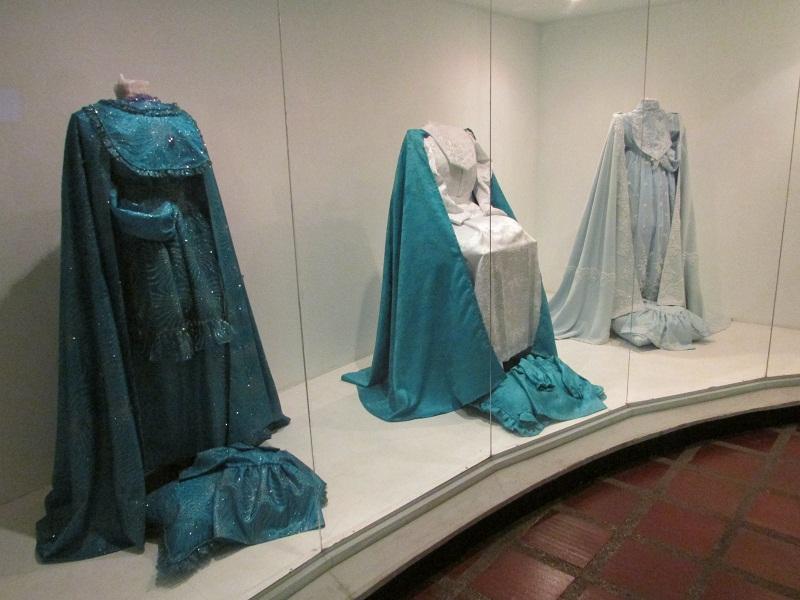 Vestidos de la Divina Pastora en el Museo
