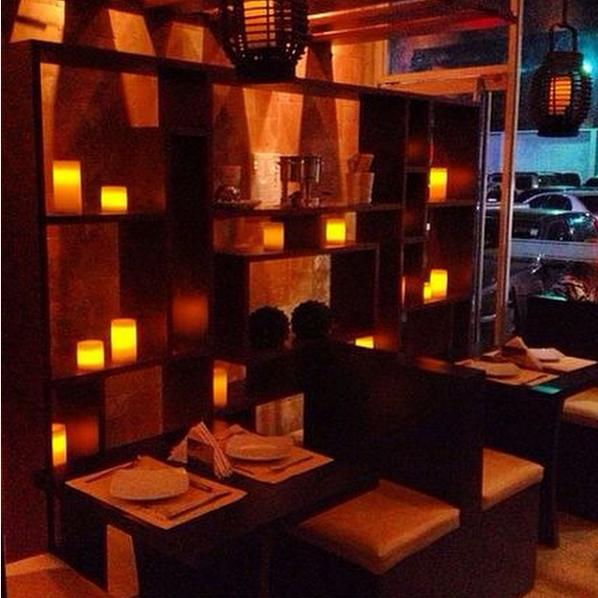 Restaurant Lefondue de noche