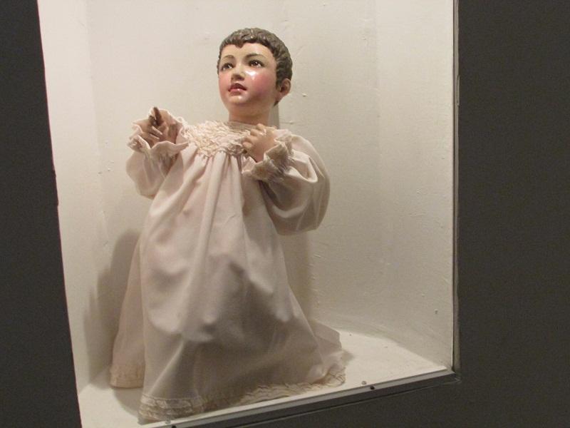 Niño Jesús en el Museo de la Divina Pastora