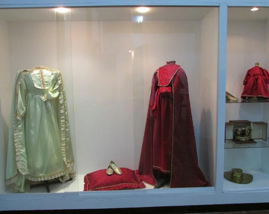 Vestidos usados por la Divina Pastora