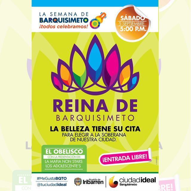 Afiche de Reina de la Feria Internacional de Barquisimeto
