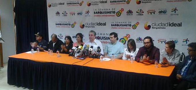 Rueda de prensa Alcaldia Barquisimeto