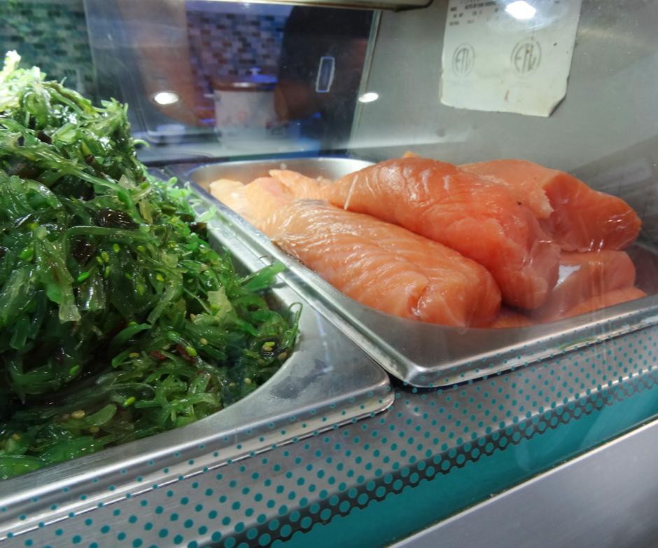 Pescado en Sushi Express