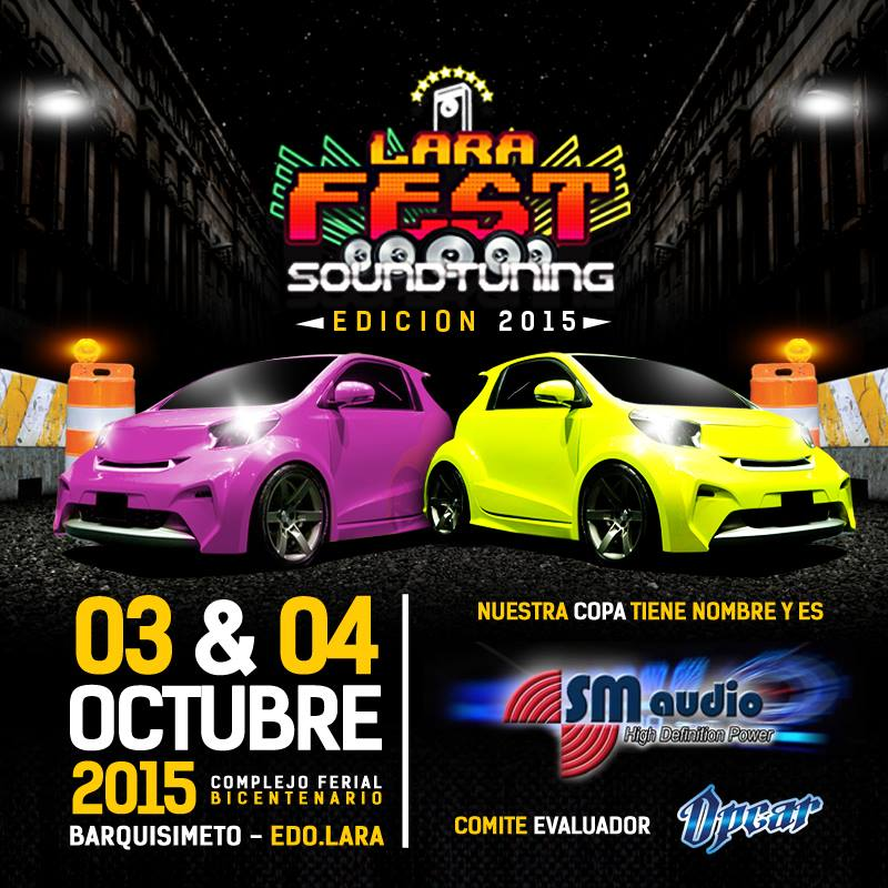 evento Lara Fest sound tuning