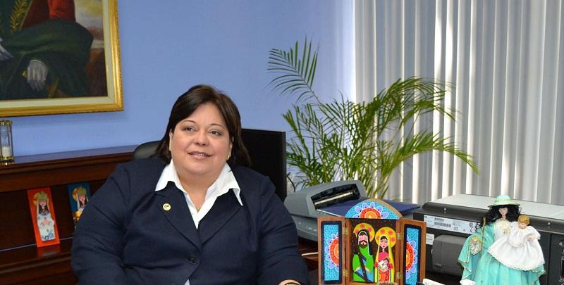 Rita Elena Áñez Rectora de la UNEXPO
