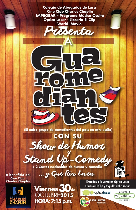 Stand up comedy Chaplin