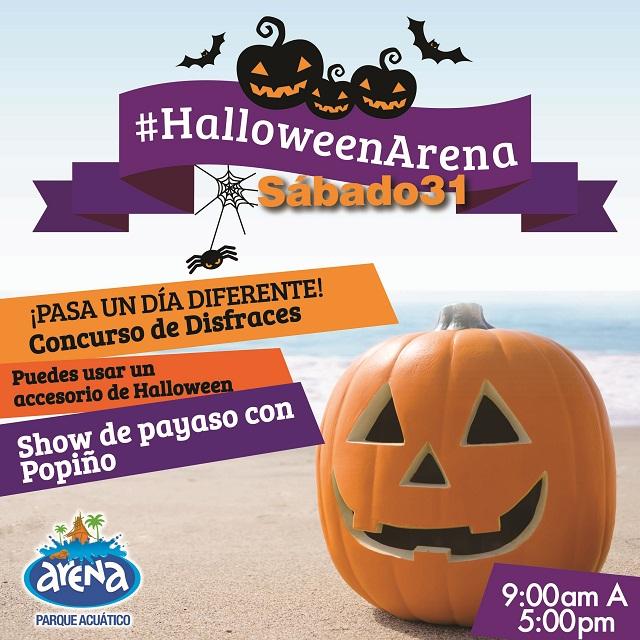 Arena Parque Acuático halloween