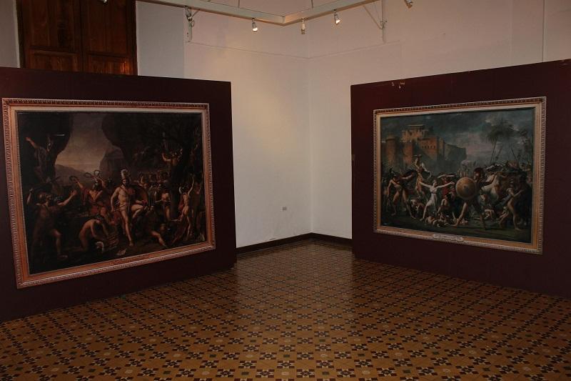 Exposición en el Palacio de Gobierno