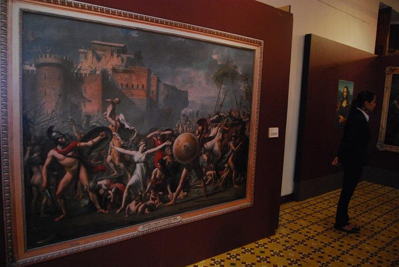 Inauguración Imágenes del Museo de Louvre