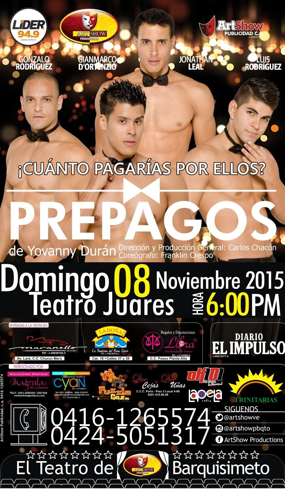 Obra de teatro Los Prepagos
