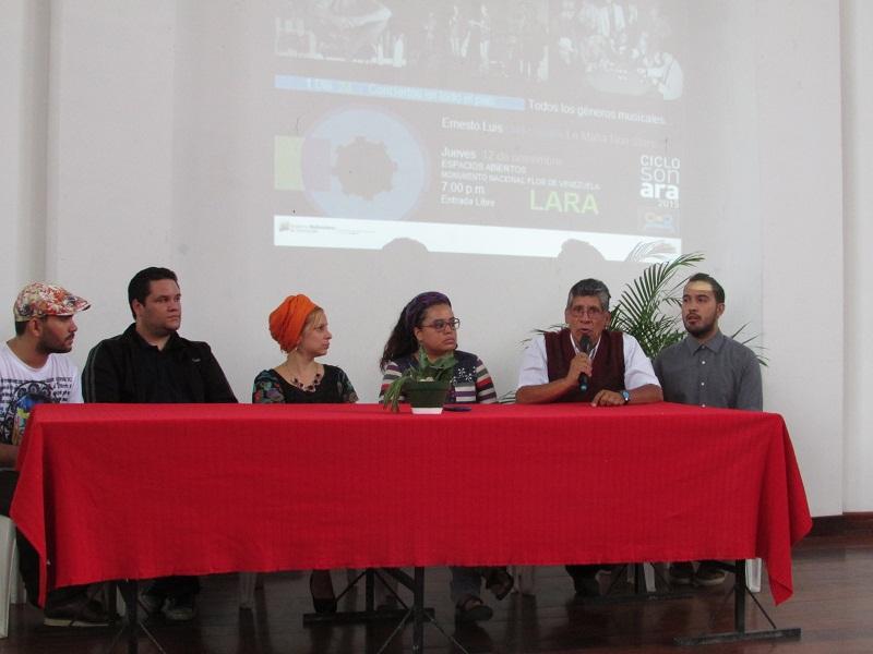 Rueda de Prensa Ciclo SonAra en la Flor de Venezuela