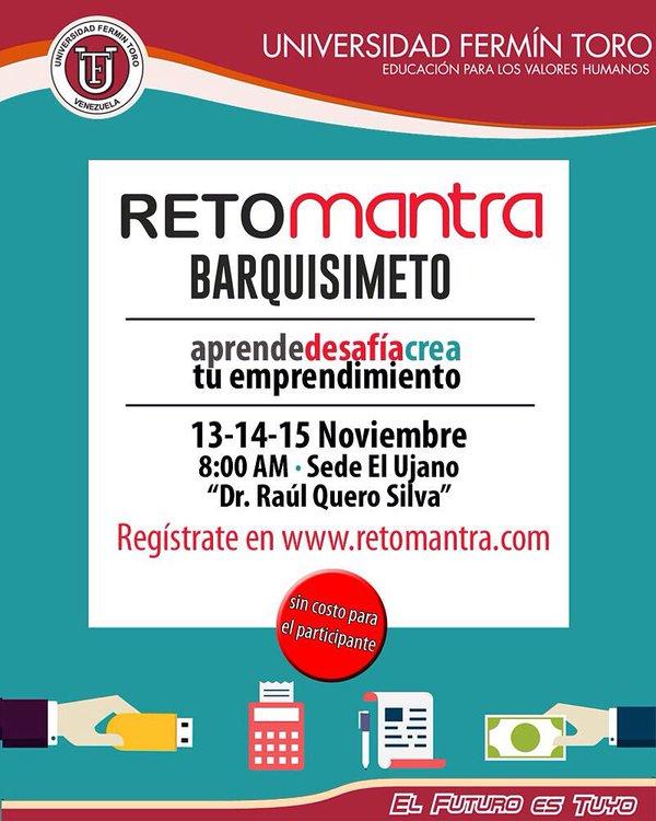 Reto Mantra en Barquisimeto