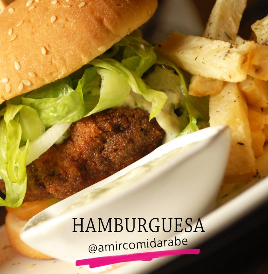 hamburguesa libanesa