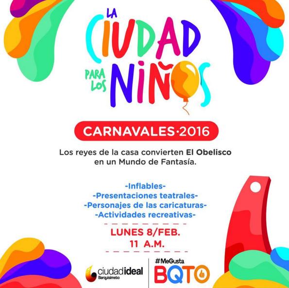 Carnavales 2016 Alcaldía de Iribarren
