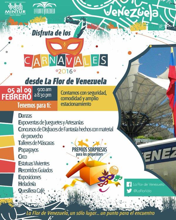 Flor de Venezuela actividades