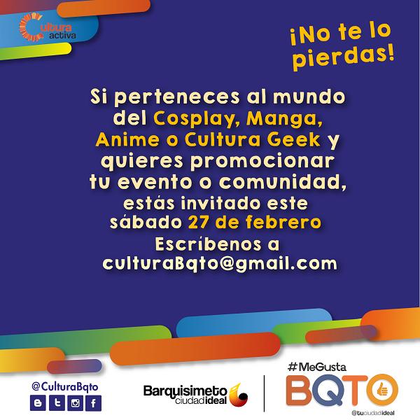 Cosplay Cultura Activa