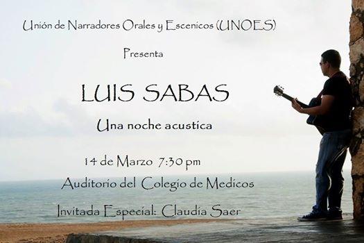 Concierto Luis Sabas