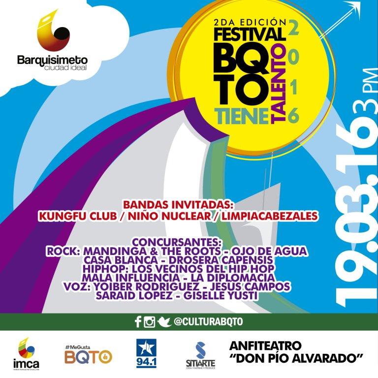 Festival Barquisimeto tiene talento