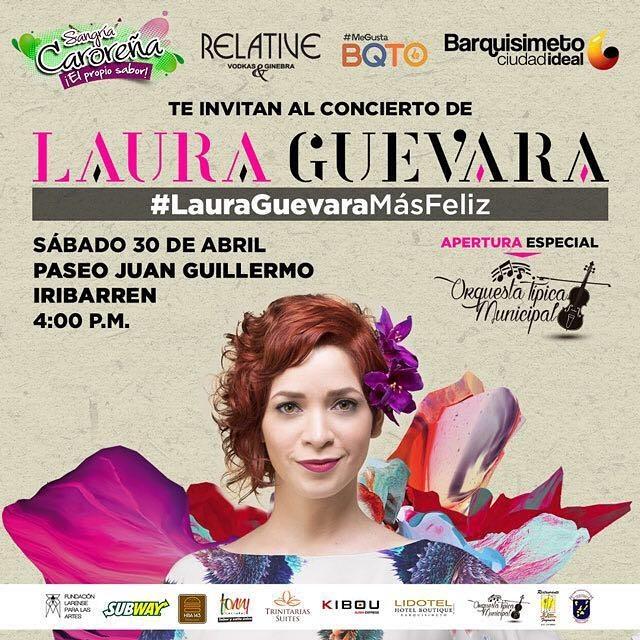 Laura Guevara Más Feliz