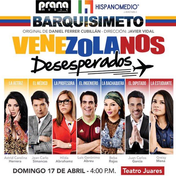Obra Venezolanos Desesperados