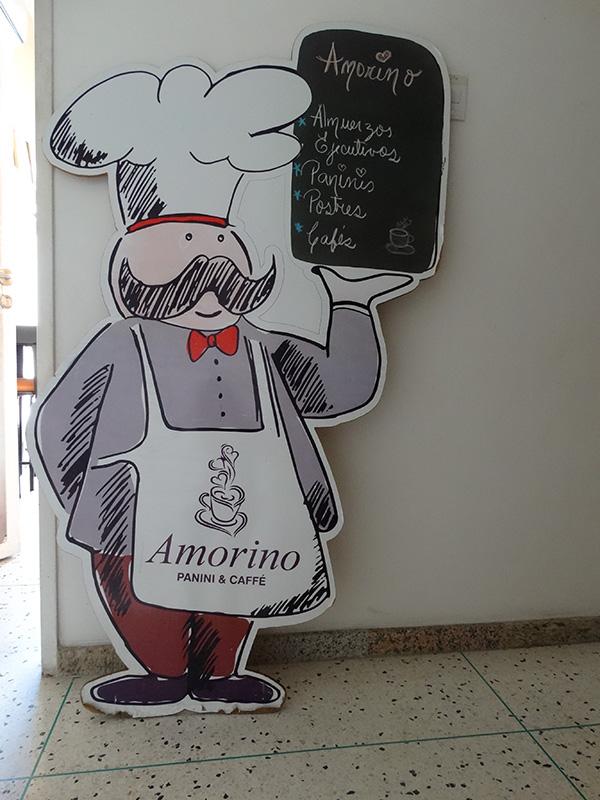 Entrada Amorino Café
