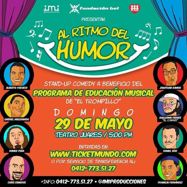 Al ritmo del humor por la Educación musical