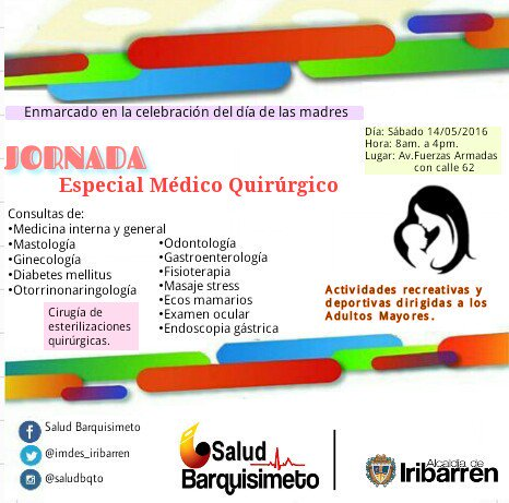 Jornada de Salud del IMDES