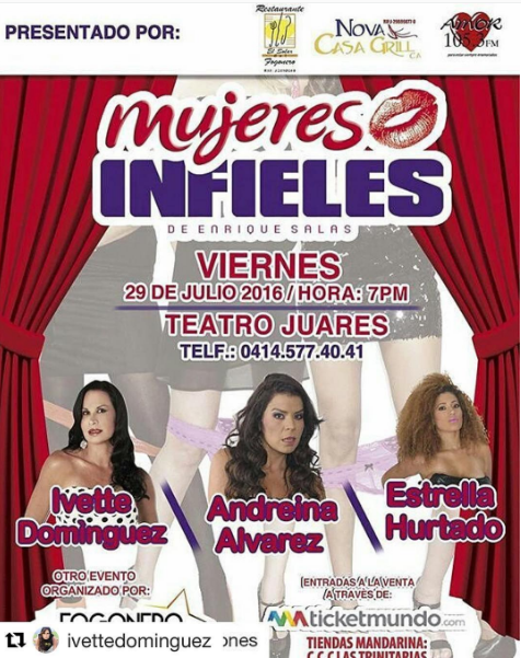 teatro Mujeres Infieles