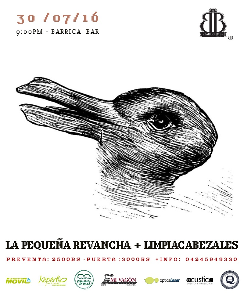 La pequeña Revancha y Limpiacabezales Barrica Bar