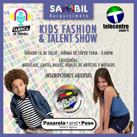 Kids fashion & Talent Show Sambil