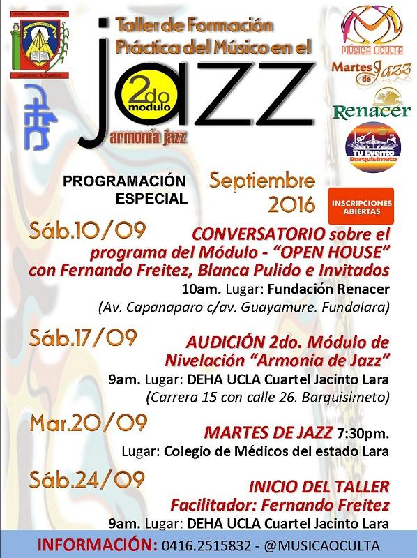 Taller Armonía de Jazz