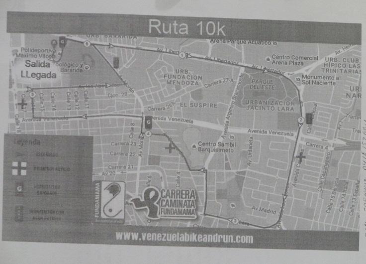 Carrera Caminata