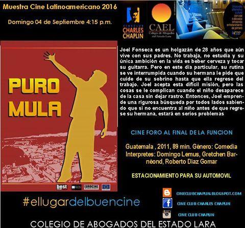 Película Guatemala