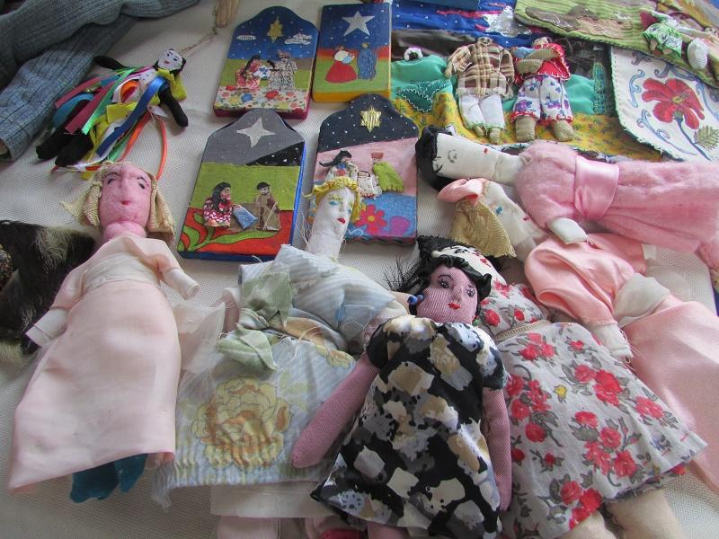 Muñecas en el museo