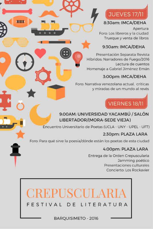 Festival de Literatura Crepuscularia