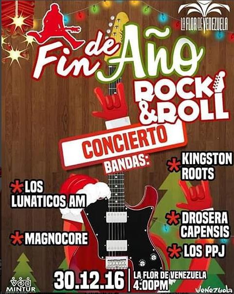 Concierto Rock Flor de Venezuela