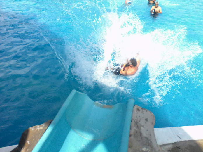 visitantes piscinas